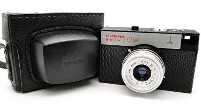 smena-8mロシアUSSR Lomography Lomoコンパクト35mmカメラ