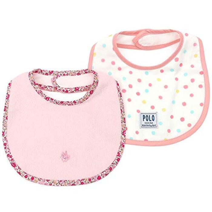 2Pスタイ(ドット柄) (ベビー) キムラタンの子供服 (36310-193) ピンク ベビー