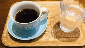 シングルオリジンの豆から淹れたコーヒーをゆっくり味わって。