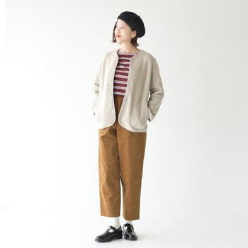 トレンドカラーとして人気のブラウンカラーですが、冬コーデに取り入れるなら季節感も両立できるコーデュロイ素材を選ぶのがおすすめです♪  今っぽさを簡単に演出できる、ブラウンカラー×コーデュロイ素材のお洋服や小物をご紹介します。