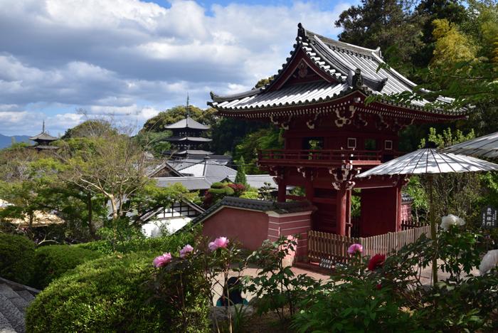 當麻寺塔頭・奥院は、京都東山に位置する浄土宗の総本山、知恩院の第12代目住職を務めていた誓阿普観上人によって、1370年に當麻寺伽藍に創建された浄土宗の仏教寺院です。