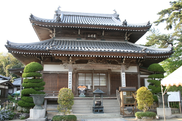 「ぼたん寺」と異名を持つ薬師院は、8世紀前半に奈良時代に活躍していた高僧・行基によって開基された真言宗の寺院です。