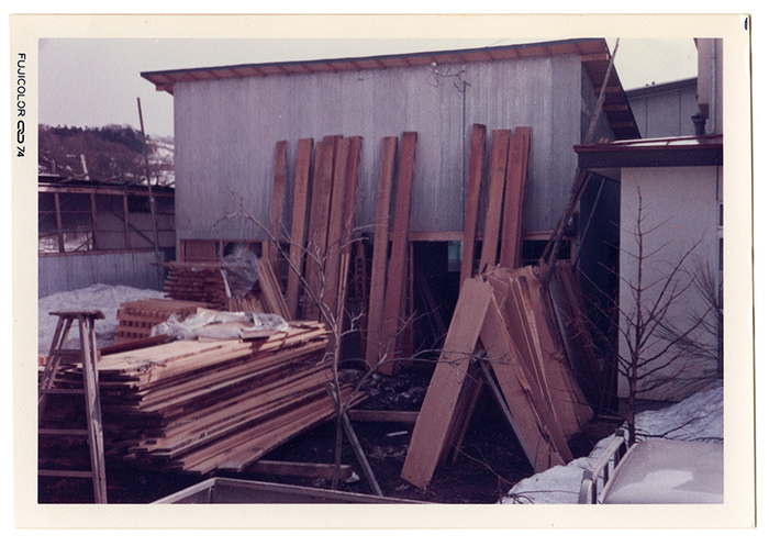 父・木村敏夫さんが「木村木品製作所」を創業した当時(写真:木村木品製作所)
