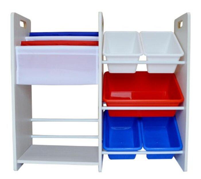 MAMENCHI 玩具箱&本棚 フランスカラー