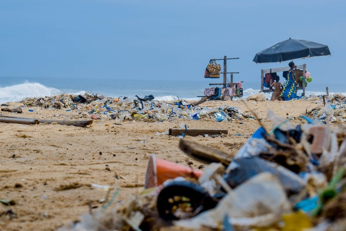 適切に処分されずに川や海に流れ着くプラスチックは、分解されることなくゴミとして溜まり続けます。調査によると、2050年には海中のゴミの総量が海の魚の重量を上回るという予測も。