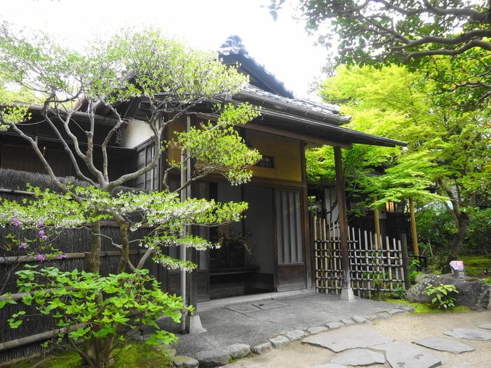 北鎌倉〜鎌倉間の観光名所、建長寺の側にある「去来庵」は、昭和初期に別荘として建築された日本家屋を使ったシチューの専門店。お店は貴重な景観を残すため、鎌倉市景観重要建築物に指定されています。眺めるだけでも価値のある建築の中でいただける「ビーフシチュー」と「タンシチュー」は北鎌倉の名物とも言われています。予約不可の「去来庵」、行列していなければ見逃す手はありません。