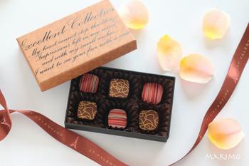 かわいいチョコを作ったらラッピングも素敵なものにしたいですよね。 チョコレートやお菓子用の箱は100円ショップにもたくさんあるので、気軽に使ってみましょう。