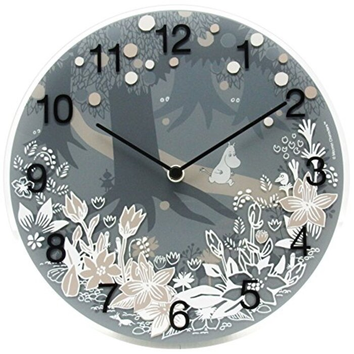 Moomin timepieces Wall Clock Moomin in the Forest MTP030008