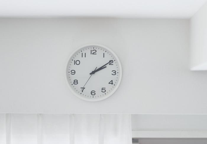 お部屋のどこにいても、パッと見て何時か分かりやすい視認性の高い時計です。無印良品らしいシンプルで装飾性のないデザインがどんなお部屋にもマッチしそう。