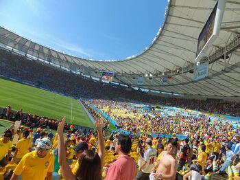 サッカー好きなら訪れてほしい、聖地マラカナンスタジアム。リオにある世界最大規模のサッカー・スタジアムです。