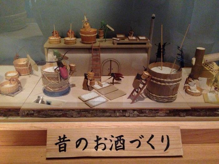 「上品寺屋」という屋号で江戸時代から酒造業を営んできた河合家住宅では、現在でも酒屋として営業されています。事前予約が必要となりますが、一階部分は、無料で開放されており、江戸時代の酒造がどのようなものであったかが分かりやすく展示されています。