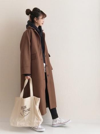 いかがでしたでしょうか?お手持ちのブラウンコートの着こなし方を知りたい方、またはこれからの最後の冬物セールでゲットしたいという方も。ONもOFFもしっかり着まわせる1枚になります。是非試着して自分にぴったりの素敵なブラウンコートを手に入れてくださいね♪
