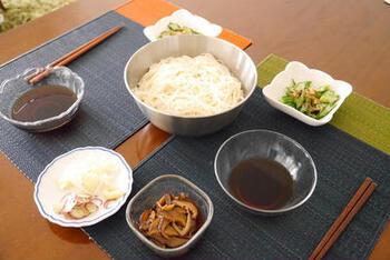 干し椎茸を戻して甘辛く煮れば、そうめんつゆと甘辛煮の2つが同時に作れます。自家製は美味しさが違います!
