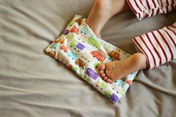 寝る前には、チンしてお布団へ。熱すぎない、ほんのり優しい温もりで、一度使うと手放せなくなりますよ。