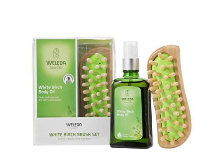 WELEDA ホワイトバーチ&ブラシセット