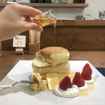 東京観光で立ち寄りたい【浅草周辺】で見つけた「パンケーキ」の人気店