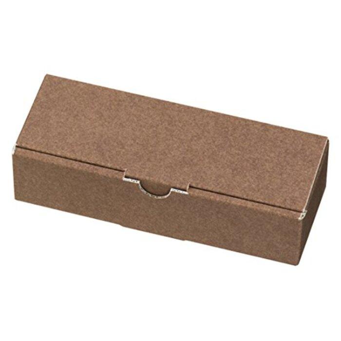 ヘッズ 日本製 無地 ギフト ボックス W183×H45×D68mm ブラウン 10枚 箱 HEADS MBR-GB12