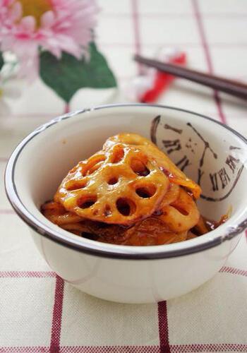 あと一品欲しい時、簡単にささっとできる小さなおかずです。マヨネーズのコクとコチュジャンの辛み、蜂蜜の甘みのバランスがポイント。おつまみにも重宝します。