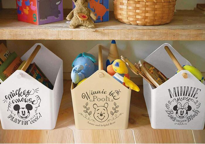 山崎実業 おもちゃ収納 おもちゃ箱 収納ケース プーさん