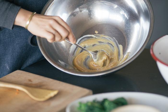 お料理のコクアップ!ごまの旨みと栄養たっぷり【練りごま】レシピ