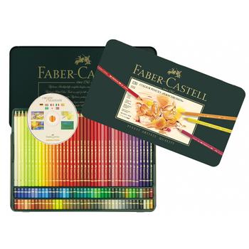 色鉛筆の元祖・ドイツのFABER-CASTELL(ファーバーカステル)の色鉛筆。商品名のポリクロモスとは古代ギリシャ語で「多くの色」という意味があります。その名の通り、色が豊富!重ね塗りした時の色馴染みが良いので、本格的な塗り絵や色鉛筆画、イラストを楽しみたいという方にぴったりです。