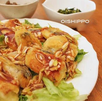 洋食というよりも中華寄りにはなりますが、こちらのレシピもおすすめ。甘めのケチャップあんかけにすることで、子どもでも食べやすい味に仕上がります。