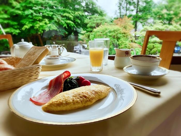 優雅な気分で朝食を。歴史感じる「クラシックホテル」のモーニング