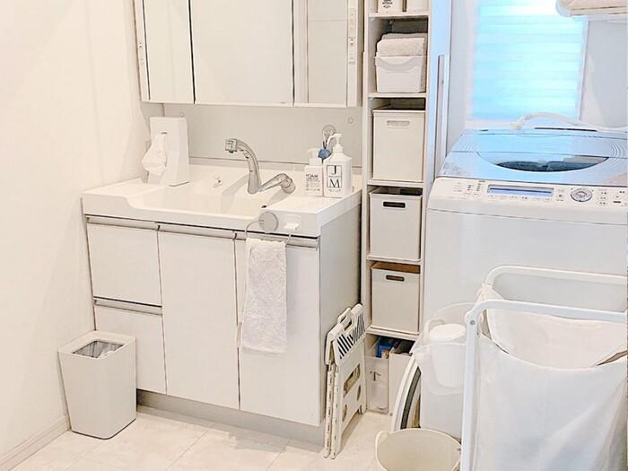 眠たい朝も身支度が楽しみに。心地よい「洗面所インテリア」のポイント