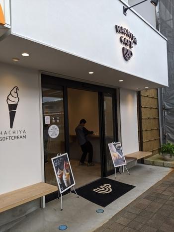 鬼怒川温泉駅のすぐそばのバウムクーヘン工房のお隣りにある「はちやカフェ」は、バームクーヘンの新しい食べ方に出合えると評判です。