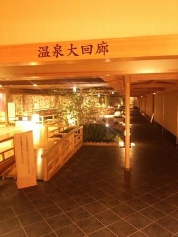 温泉もプールも楽しみたい方は、「きぬ川ホテル三日月」で1日中過ごすのも良いですね。日帰り温泉「庭園大回廊」は、3つのエリアに寝湯やジャグジーなど20以上のお風呂があり、温泉通の方もきっと満足できるはず。
