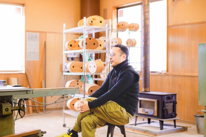 オーナーの井藤昌志さん。取材時には、松本のおすすめのお店や食べ物をたくさん教えてくれた