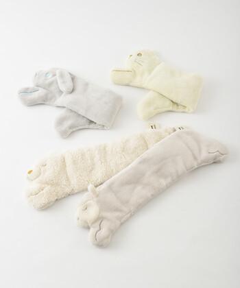 このセラミックウォーマー アニマルネックピローには、羊以外にも、うさぎ・アルパカ・猫のアニマルキャラクターが♪