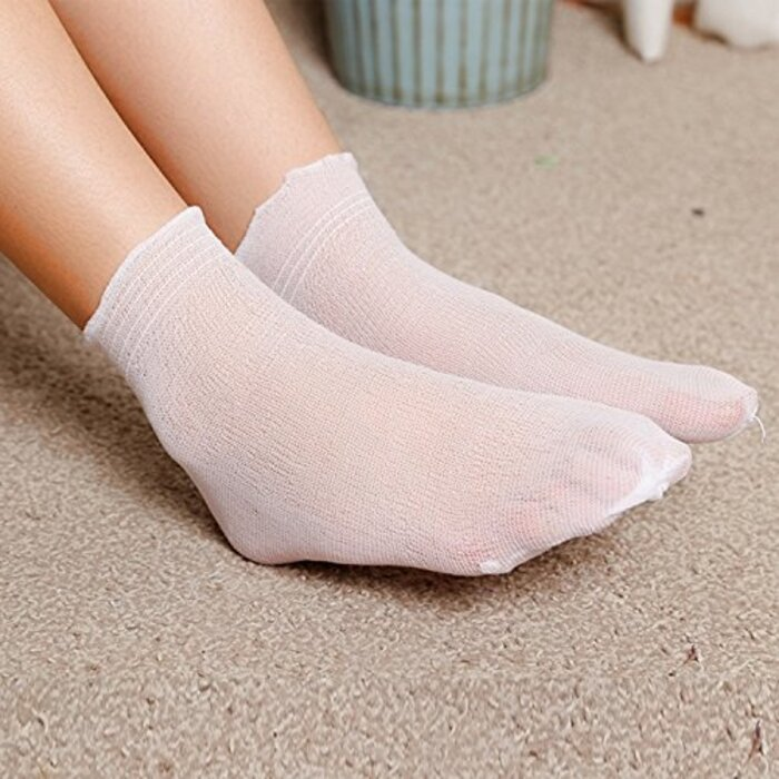 Azure 業務用 使い捨て カバーソックス 靴下 120足分 240枚 セット ガーゼ 生地
