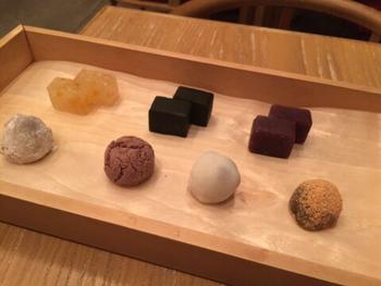 甘い物だけと言う方には、季節のお茶とお好みの和菓子が選べるセットも。お菓子は追加も出来るので、思う存分楽しんでくださいね。