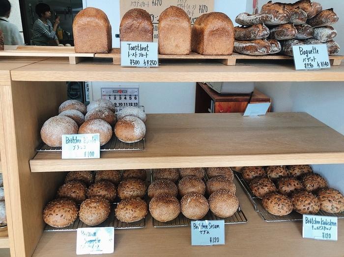 「Backerei Brotzeit(ベッカライ・ブロートツァイト)」は、つくば市でドイツパンならココ!と言われる人気店。本場ドイツや都内のお店で修業を積んだオーナーは、ドイツだけでなくフランスのテイストも取り入れたパン作りにこだわっているそう。