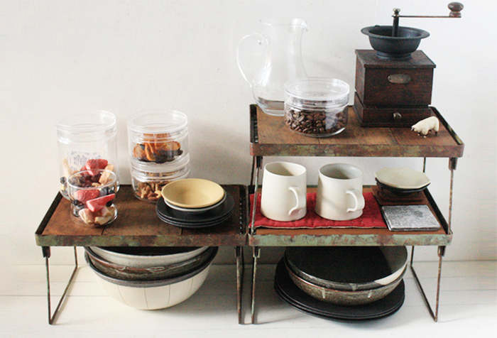 おしゃれで機能的◎キッチンのすっきり収納を叶える《100均DIY》特集