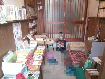 展示している本にもこだわりが感じられます。昭和にタイムスリップしたような、不思議な懐かしさのあるお店です。