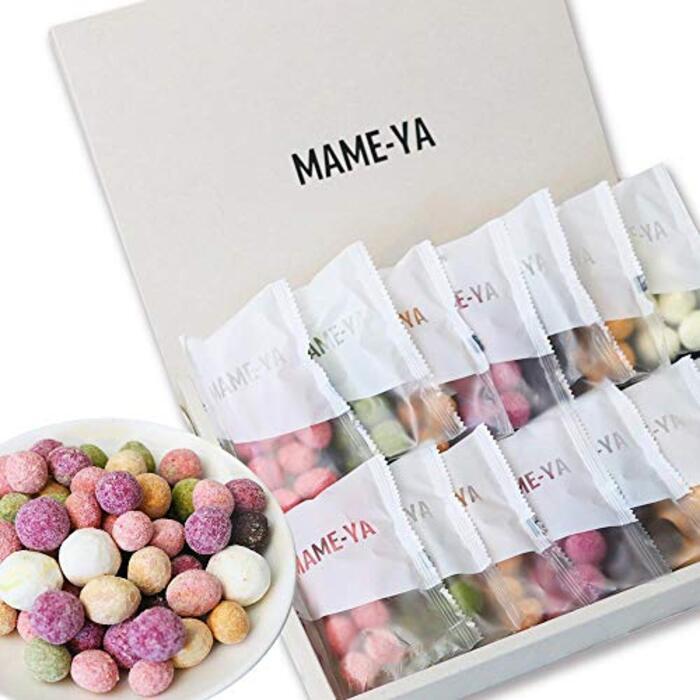 バレンタイン ホワイトデー スイーツ MAME-YA(マミーヤ) 豆 お菓子 チョコレート お豆7種×2袋の14個 手土産