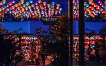ベイガーデンでも季節のイベントが開催されるので要チェック♪写真は2019年夏のランタンナイトの様子です。気持ち良い夜風の中で、ランタンの柔らかい光を楽しめたと好評でした◎