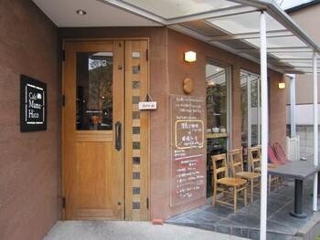 季節感を大切にしている「カフェ マメヒコ」。メニューや店内から四季を感じることができます。