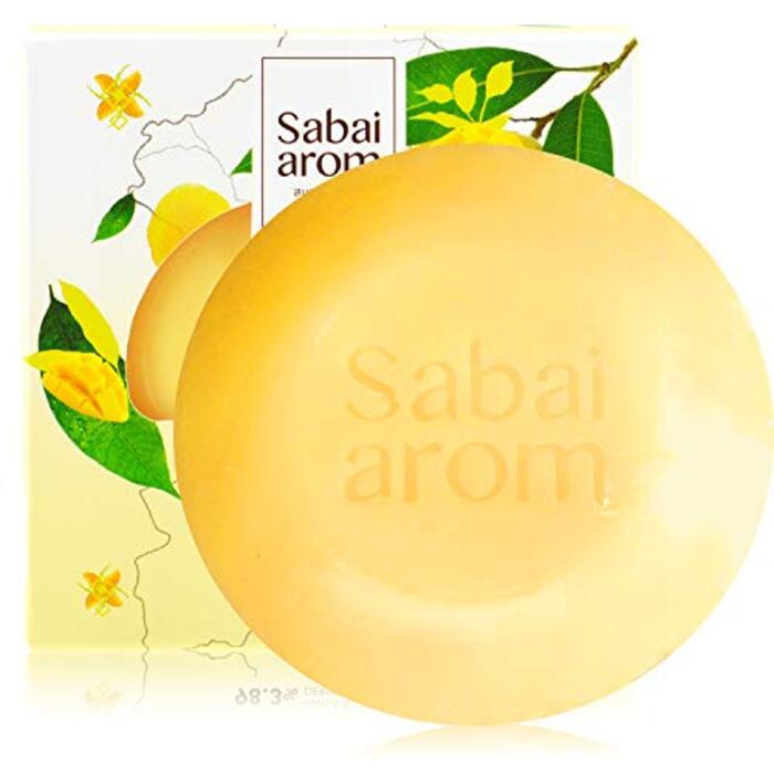 Sabai-arom マンゴー オーチャード フェイス&ボディソープバー (石鹸) 100g【MAN】【001】