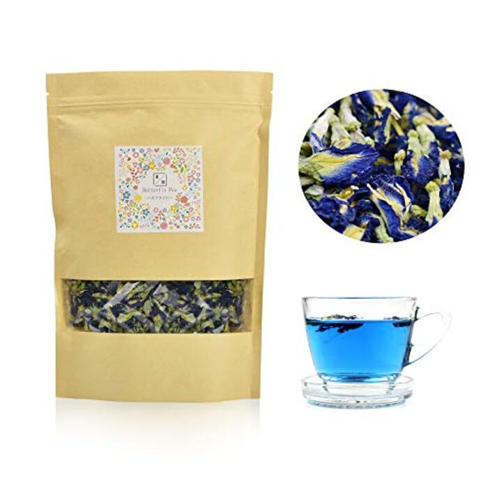 100g バタフライピー お茶 Butterfly Pea 蝶豆 メーカー品質保証あり