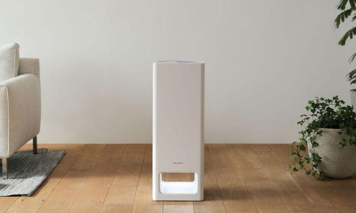 簡単だけど効果が期待できるのが空気清浄機。花粉の他有害物質なども取り除いてくれて、お部屋の空気をきれいにキープしてくれる。