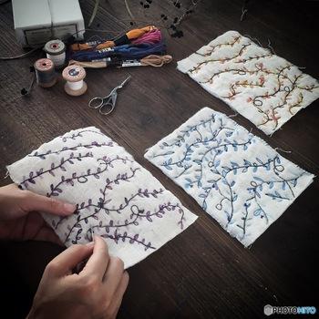 刺繍の基礎を手軽に学ぶ「刺繍キット」で始めるハンドメイドな日々