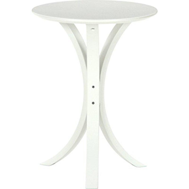 不二貿易 サイドテーブル ホワイト 95946