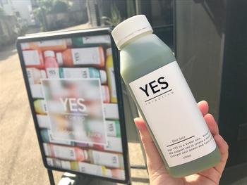 二子玉川と中目黒にある「YES TOKYO」は、フォトジェニックなコールドプレスジュースが人気。
