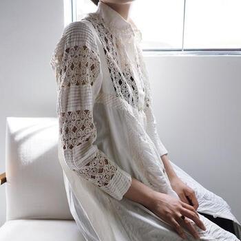こちらは愛媛、松山に実店舗があるセレクトショップ「10,locus」の、ヴィンテージの洋服に特化したオンラインショップです。長い時間を経てきた洋服たちは、ダメージ部分に補修をかけ、リサイズできるものは日本人の体形に合わせているそう。