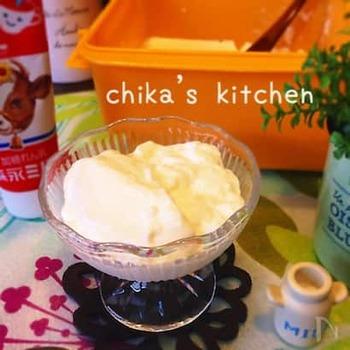 生クリーム・牛乳・練乳をベースに作る、甘めの牛乳プリン。ほんのひと口だけ甘いものが欲しいなというときにもぴったり。また、コーヒーなどと一緒にいただいても美味しそうです*