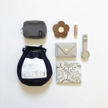 小さいバッグでも収まりがよく、荷物がどうしても減らせない方にとっては軽量化できるので、とても助かるはず!持ち運ぶアイテムの中でもお財布は必須アイテムなので、是非見直してみて下さい。