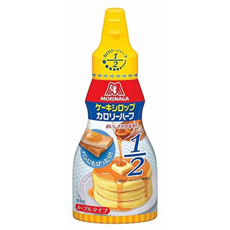 森永製菓 ケーキシロップ カロリーハーフ 140g×5ホン